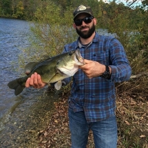 Kevin Miller's nice Marsh Creek Bass